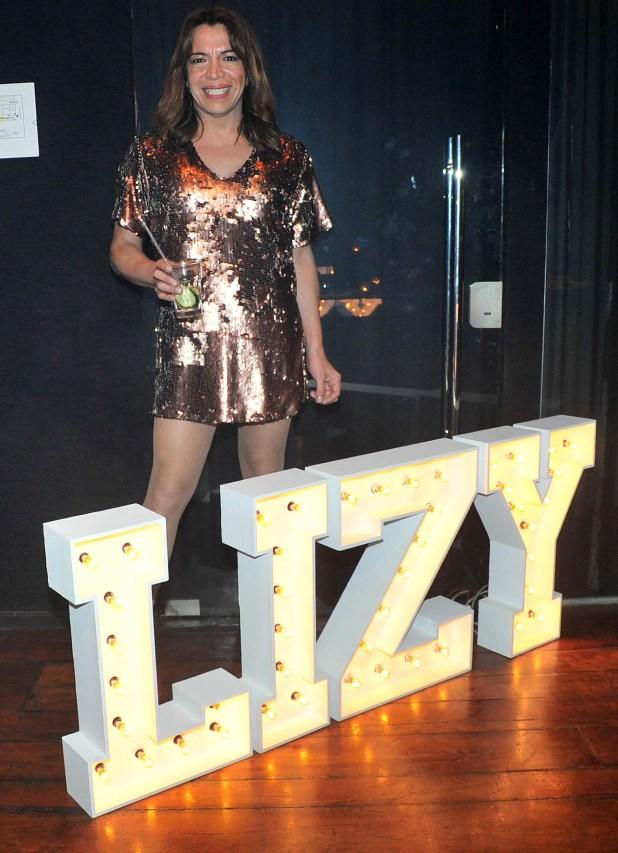 Lizy Tagliani en su último cumpleaños (Verónica Guerman / Teleshow)