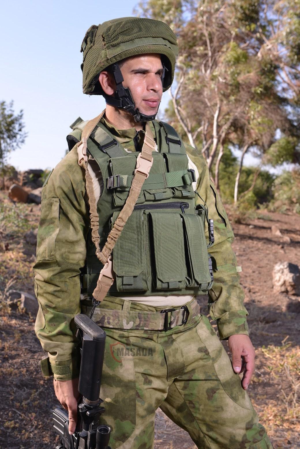 Masada Armour equipa a los soldados de las Fuerzas de Defensa de Israel