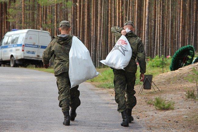 Un periodista de Meduza, un medio opositor,estuvo en Sandarmoj. (Georgy Chentemirov/Meduza)