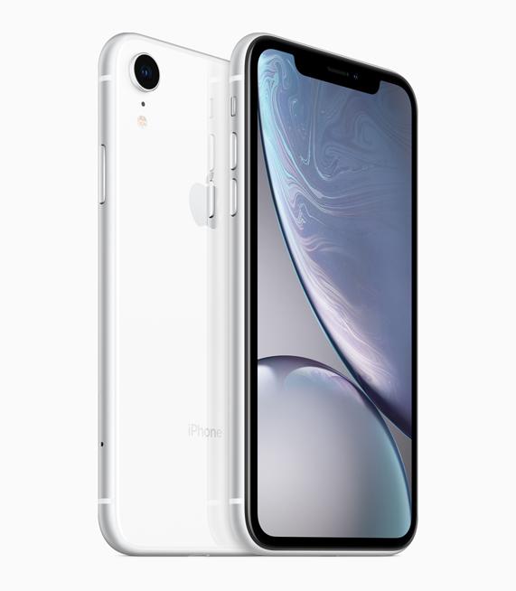 Los iPhone XR tienen pantalla LCD de 6,1 pulgadas.