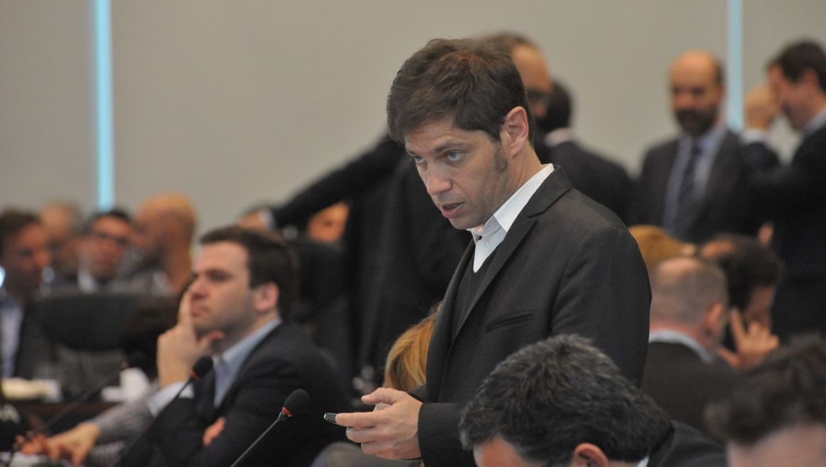 Axel Kicillof, el candidato de Cristina Kirchner para la provincia de Buenos Aires (Patricio Murphy)