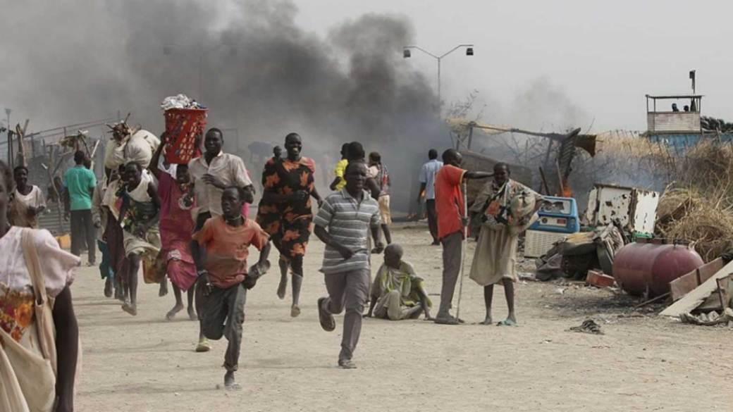 La medición de las víctimas y la destrucción causada por la guerra es extremadamente difícil por las condiciones de violencia en el país (AFP)