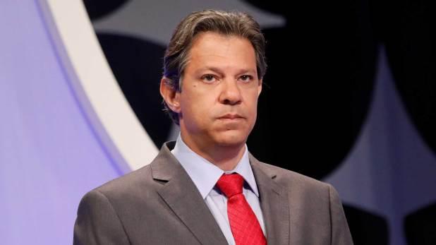 Fernando Haddad fue el blanco de los ataques en el último debate (Reuters)