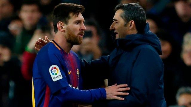 Lionel Messi le consultó a Ernesto Valverde por Malcom