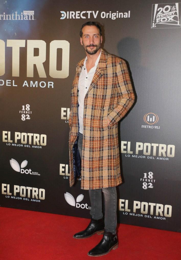 El sobre todo del actor Luciano Cáceres fue tema obligado en la charla de todos los invitados