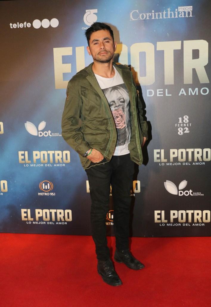 """Daniel Pacheco, otra de las figura de """"El Marginal""""; allí, era """"James"""""""