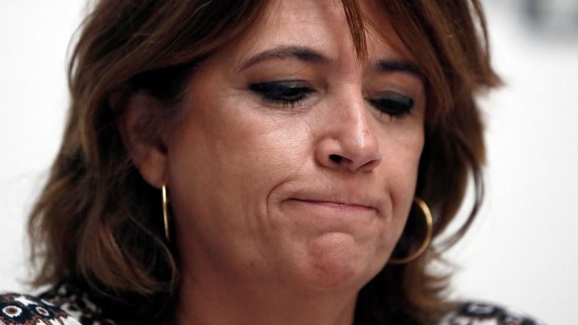 Toda la oposición reclamó la renuncia de Dolores Delgado (EFE)