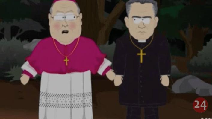 """""""El Equipo de Limpieza"""" simboliza el encubrimiento de los casos de abuso sexual en la Iglesia Católica"""