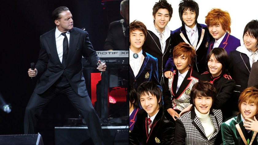 La música de Luis Miguel se convirtió en una gran influencia en la boy band coreana Super Junior. (Foto: Video: YouTube Gdx Iver)