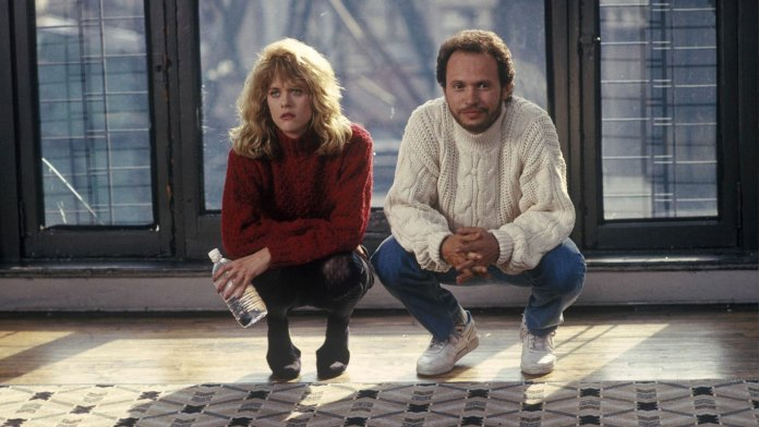 Billy Cristal y Meg Ryan en Cuando Harry conoció a Sally