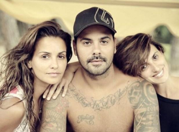Los tres hermanos: Mónica, Eduardo y Penélope (Instagram)
