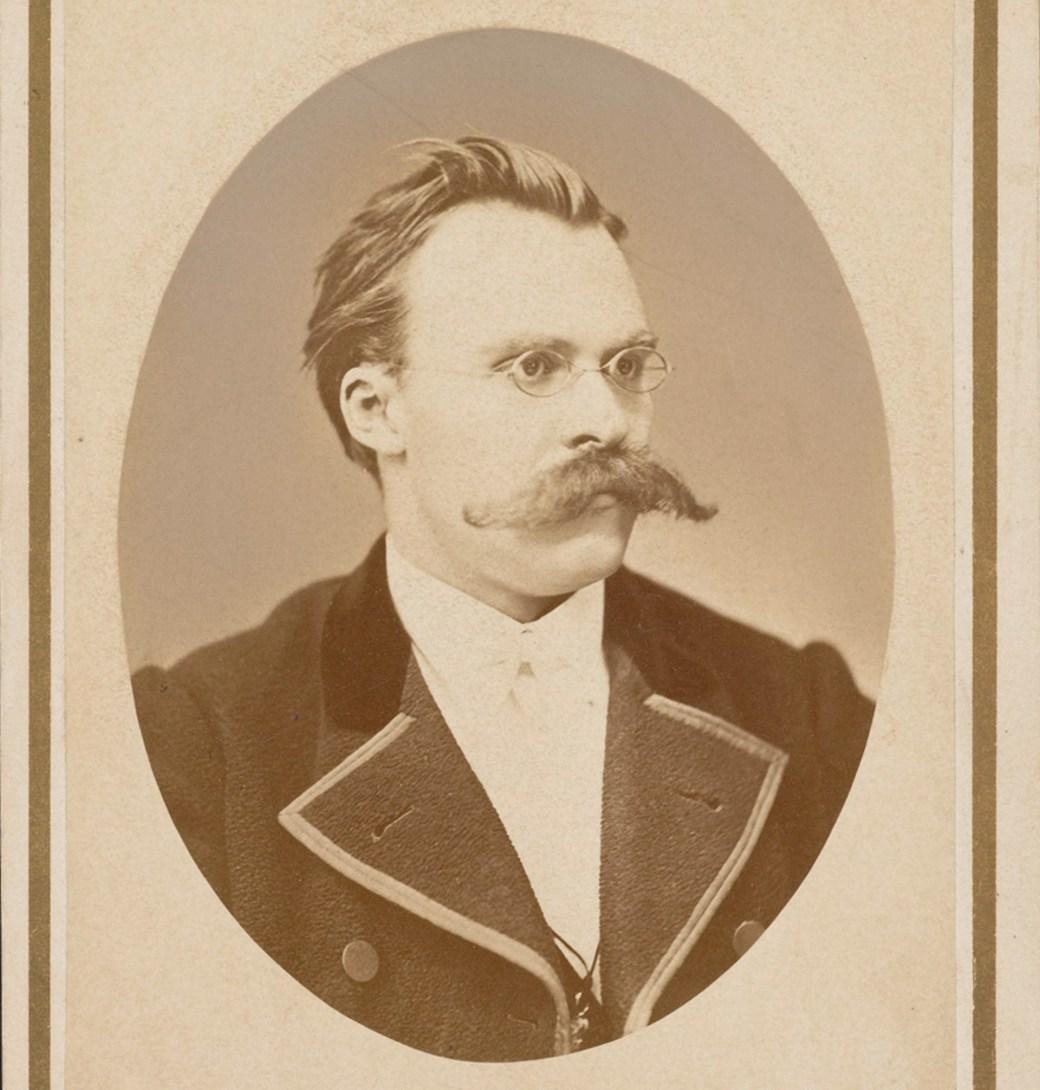 Friedrich Nietzsche, foto de 1872