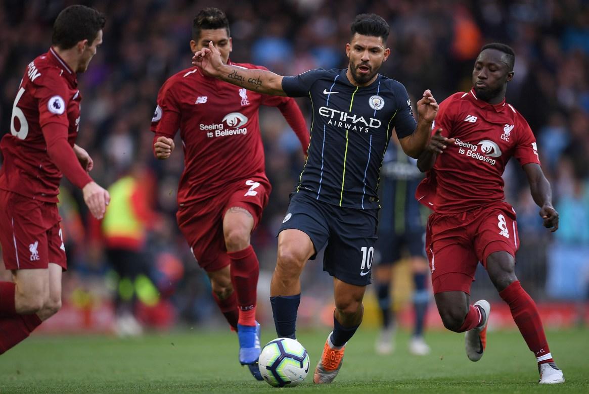 Manchester City empató con Liverpool en el partido de la primera parte del torneo (AFP)
