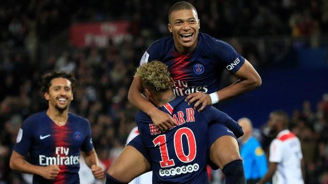 Mbappé se transformó en el gran estrella del Paris Saint Germain (Reuters)