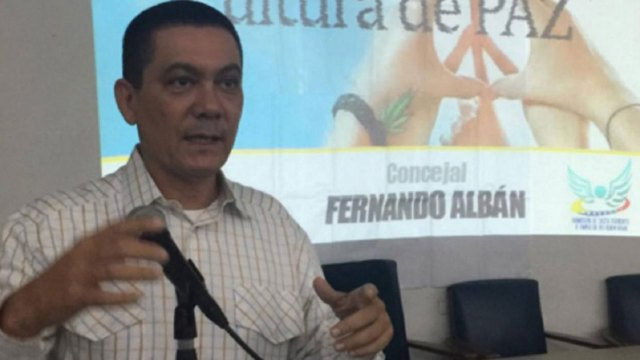 Fernando Albán fue hallado sin vida el lunes 8 de agosto frente a la sede en Caracas del Servicio Bolivariano de Inteligencia Nacional de Venezuela (SEBIN)