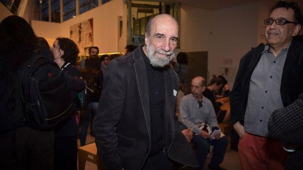 El poeta chileno Raúl Zurita (Guille Llamos)