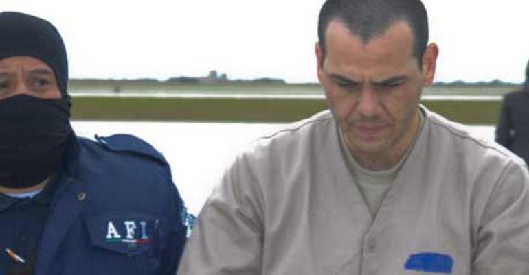 El Vicentillo a casi una década de su extradición a Estados Unidos