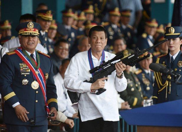 Duterte ha mantenido un perfil de fuerte autoritarismo (Reuters)