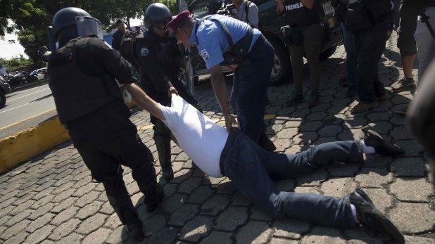 Represión en Nicaragua (EFE)