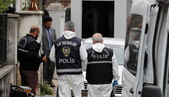 Las autoridades turcas siguen buscando pistas sobre el asesinato de Jamal Khashoggi (REUTERS/Osman Orsal)
