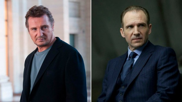 Liam Neeson y Ralph Fiennes