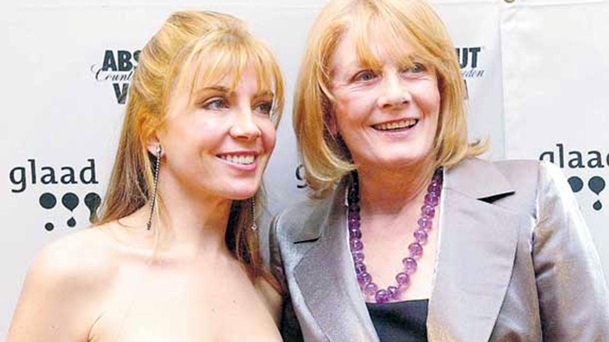 La reconocida actriz Vanessa Redgrave con su fallecida hija Natasha Richardson (AP)