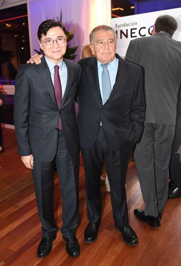 Jorge Fontevecchia y Eduardo Eurnekian