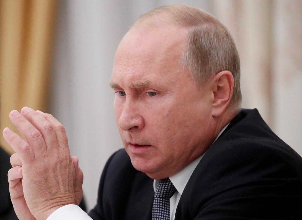 Vladimir Putin (REUTERS/Maxim Shemetov)