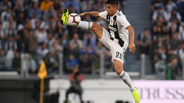 El portugués Joao Cancelo llegó a la Juventus en el último mercado y ya suena en el Barcelona (AFP)