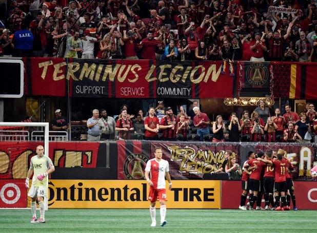 La hincha del Atlanta United está en entre los 15 mejores aforos del fútbol mundial (Reuters)