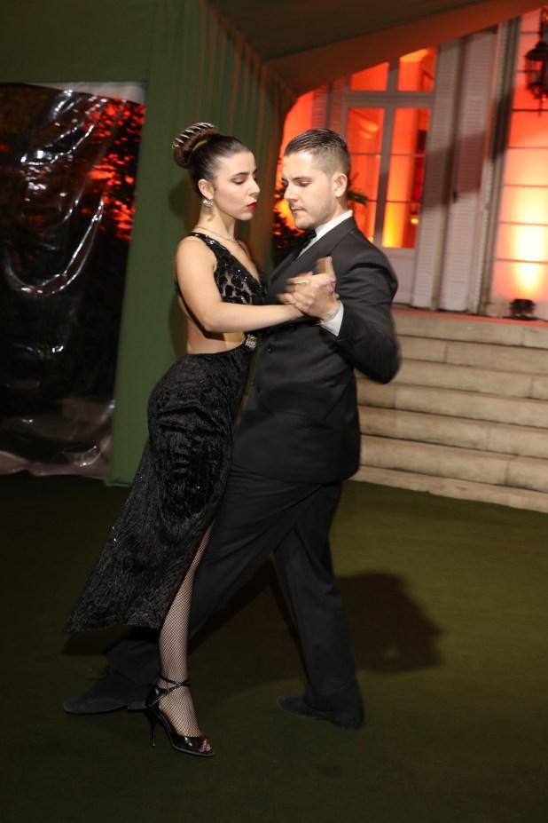 Los invitados disfrutaron de un show de tango