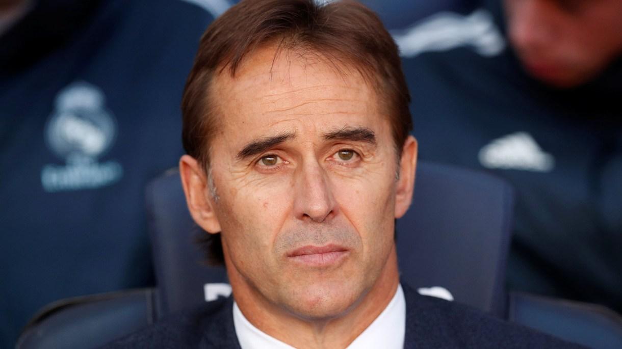 Lopetegui fue despedido de la Selección Española y luego del Real Madrid en 2018 (REUTERS/Albert Gea)