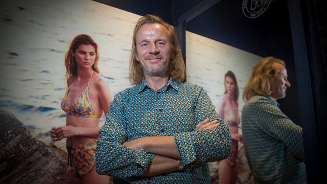 Roland Herlory recibió a Infobae en la tienda de Vilebrequin, la primera en Argentina (Guille Llamos)