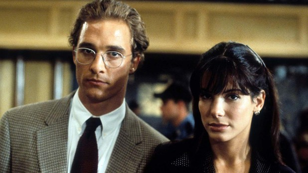 "Matthew McConaughey en ""A Time to Kill"" (1996)"