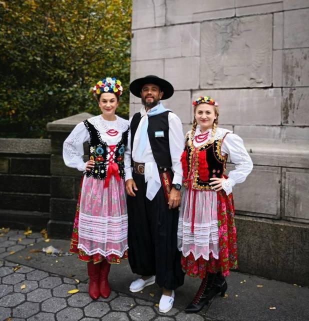El viernes participó del tradicional desfile de delegaciones
