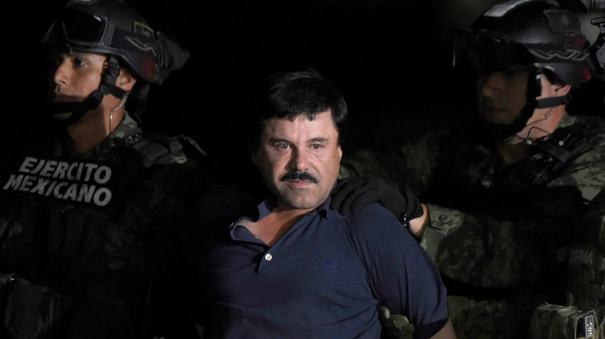 """""""El Chapo"""" Guzmán en 2008 (Foto: AFP)"""