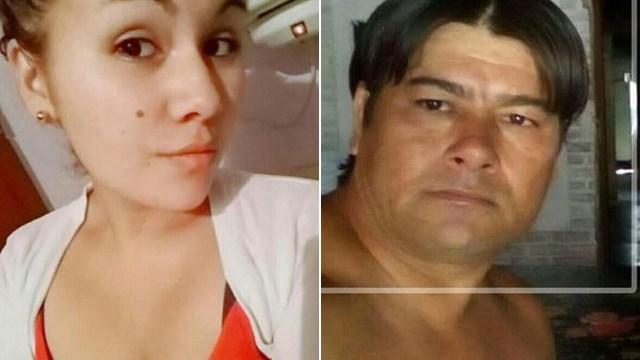 La víctima y el presunto asesino