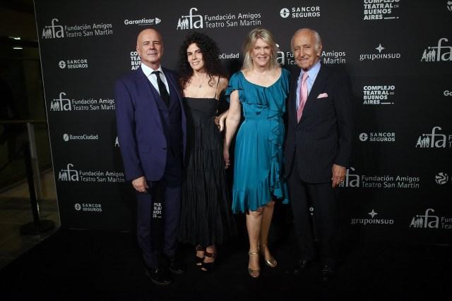 Jorge Telerman, Cynthia Cohen, Eva Thesleff de Soldati y Santiago Soldati