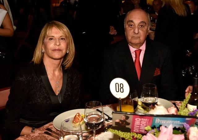 Jorge Aufiero y su mujer Mónica Balestrini de Aufiero