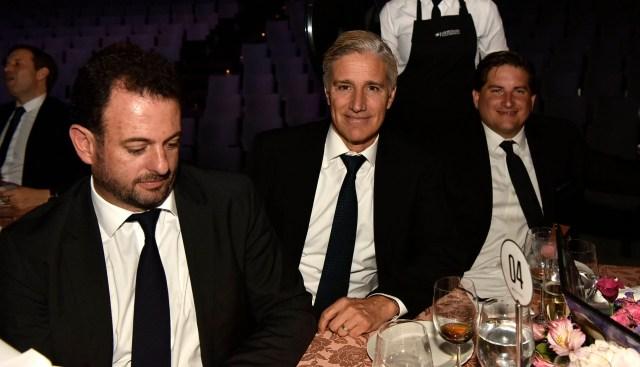 José Urtubey, Marcelo Figueiras y Gastón Corral