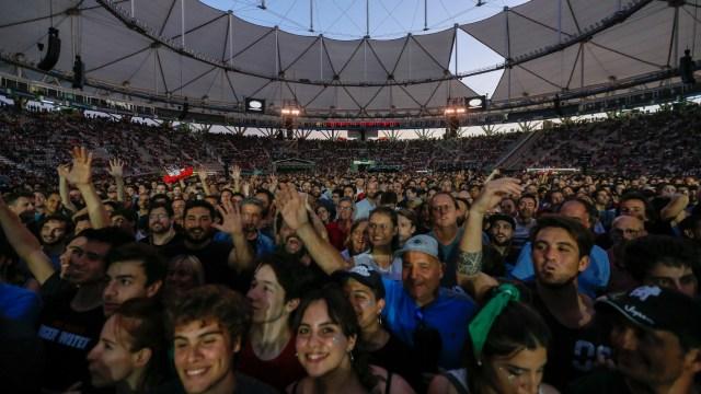 Tras tocar en Buenos Aires, Roger seguirá su gira por Chile, Perú, Colombia y finalizará en México(Nicolás Aboaf)