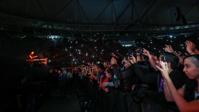 Miles de personas disfrutaron del espectáculo en el Estadio Único de La Plata