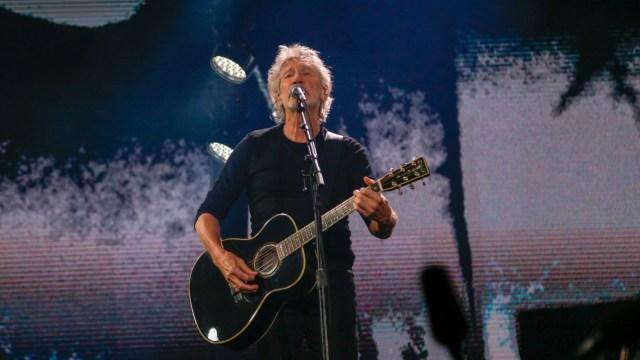 El músico regresó a tocar a Buenos Aires en el Estadio Único de La Plata, luego de haber presentado una serie de shows en el Estadio de River en 2012