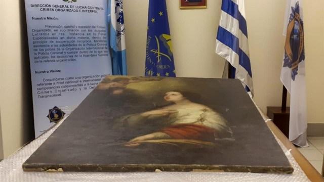 """La pieza """"Santa Catalina"""" fue elaborada en el Siglo XVII"""