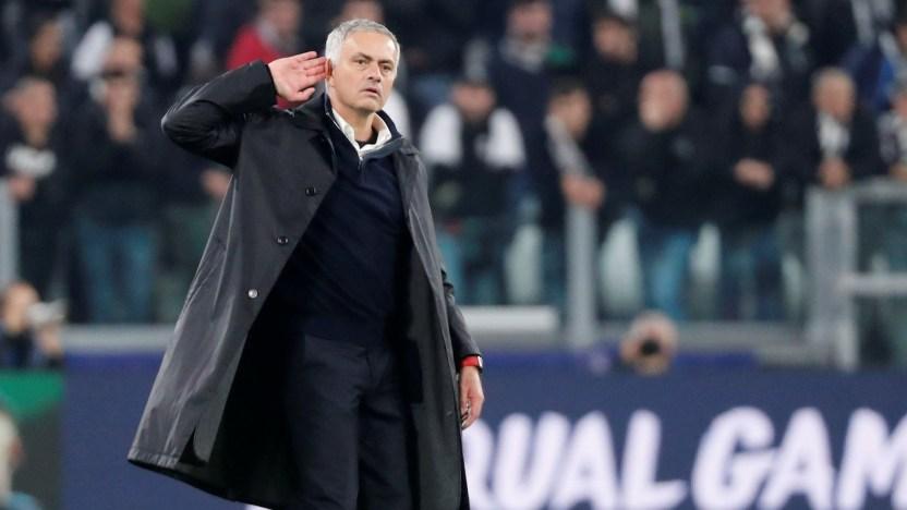 El gesto de José Mourinho (Reuters)