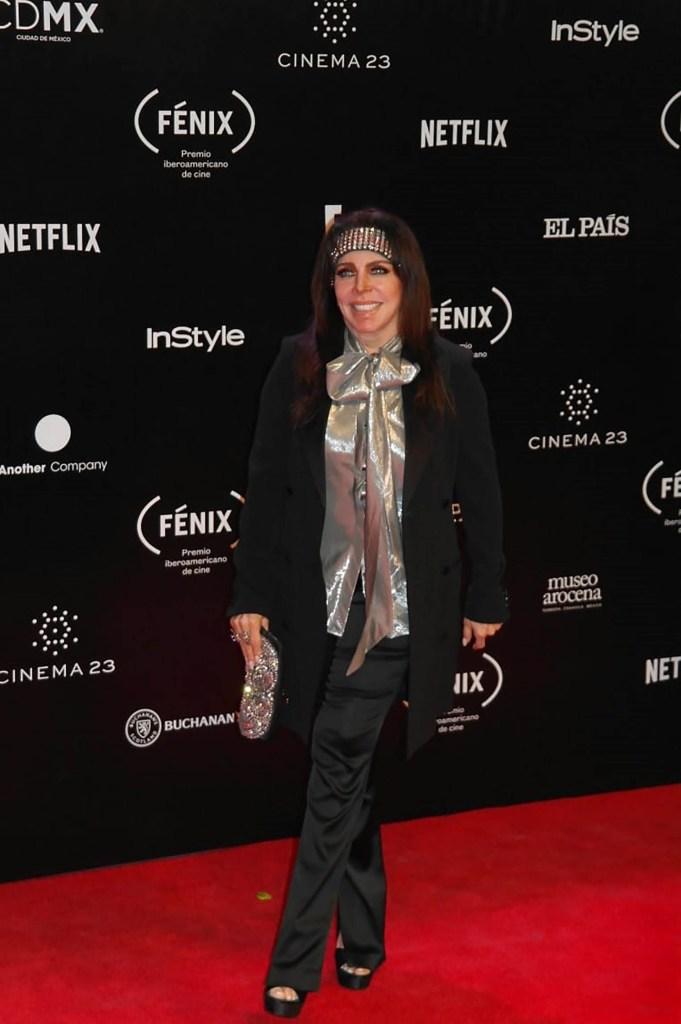 La actriz desfiló por la alformba roja de los Premios Fénix (Foto: Prensa Danna)