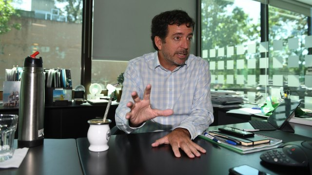 Bosch es ingeniero de la UBA (Maximiliano Luna)