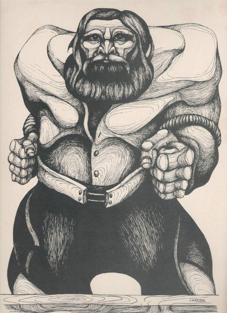 Martín Fierro por Ricardo Carpani