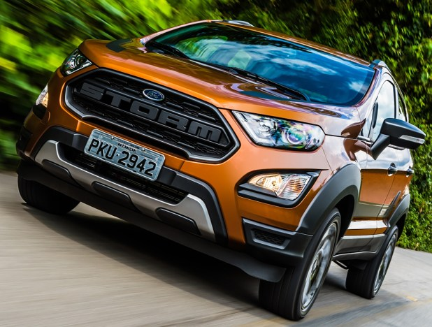 Ford EcoSport Storm, la nueva versión del SUV que se produce en Brasil. (FORD)