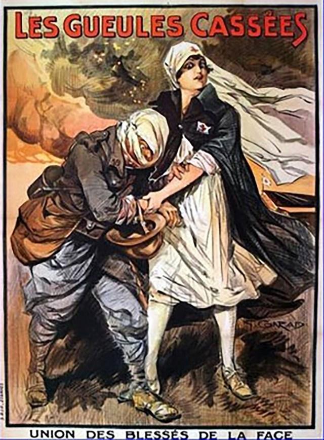 Afiche de la Unión de Heridos del Rostro